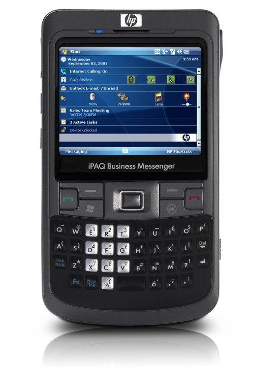 HP introduces the iPAQ 910 and iPAQ 914 Business Messenger smartphone