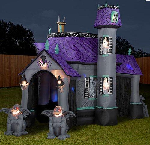 Inflatable Halloween Haunting SlipperyBrickcom