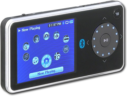 Insignia Pilot media player has 4GB capacity with FM tuner and Bluetooth