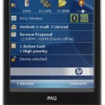 iPAQ 210 Enterprise PDA from HP