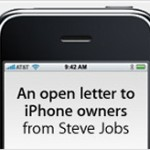 Jobs Apologizes, Gives $100 iPhone Credit