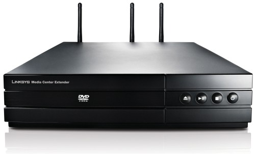 Linksys DMA 2200 Media Center Extender connects with Windows Media Center