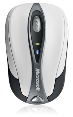 Microsoft Bluetooth Notebook Mouse 5000 works wireless and transceiver free