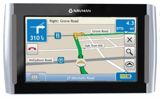 Navman S90i GPS unit features real-time traffic and routing, bluetooth and text-to-speech