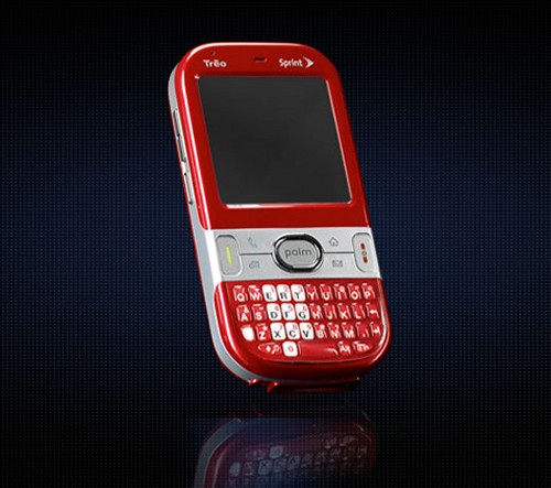Palm Centro launched with Sprint as a lighter and cheaper alternative to the Treo