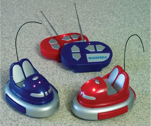 Remote control bumper cars