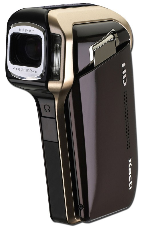 Sanyo Xacti DMX-HD700 is worlds smallest and lightest 720p HD camcorder