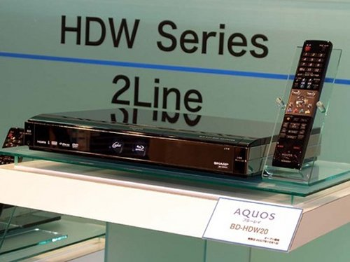 sSharp Aquos BD-HDW20 Blu-ray DVD player