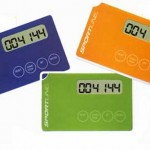 Credit card-sized ThinQ pedometer