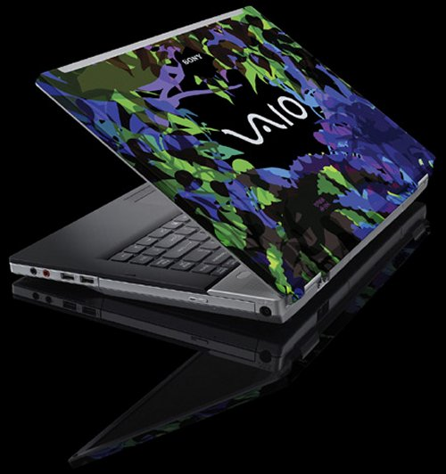 Sony VAIO Splash Editions are works of art with Maya Hayuk