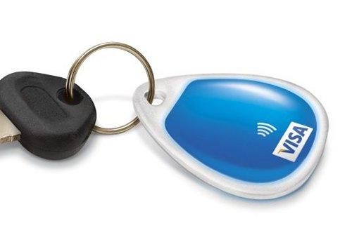 Visa Paywave keychain