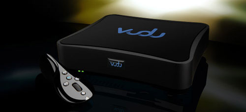 VUDU set top box lets you download movies through broadband to watch on your TV