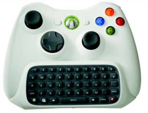 Xbox 360 Chat Pad and Halo controllers will be coming out next week from Microsoft