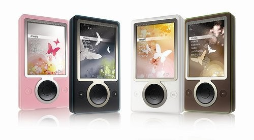 Microsoft drops the price of the Zune media player by $50