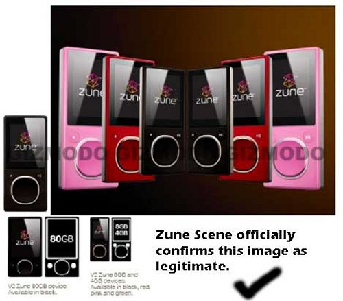 A new Zune 2 may be coming from Microsoft soon