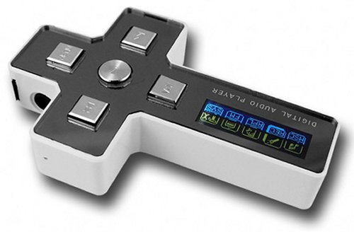 """The """"Cross MP3 Player,"""" comes in 3 different memory sizes."""