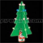 Ultimate geek LED Christmas tree