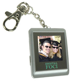 Digital Foci Pocket Album keychain