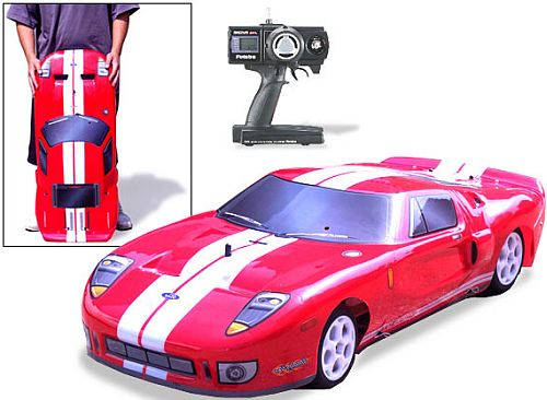 Ford GT gas powered RC Car.