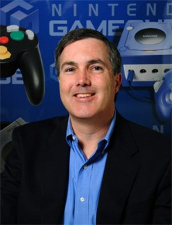 George Harrison, Nintendo head of marketing for the U.S., says the Wii game console price will not be dropping