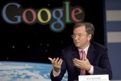 Eric Schmidt and Google plan to make software to rival Windows Mobile, not a Google Phone