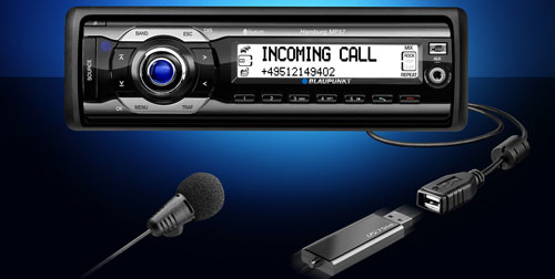 Blaupunkt Hamburg MP57 car radio with a USB storage interface