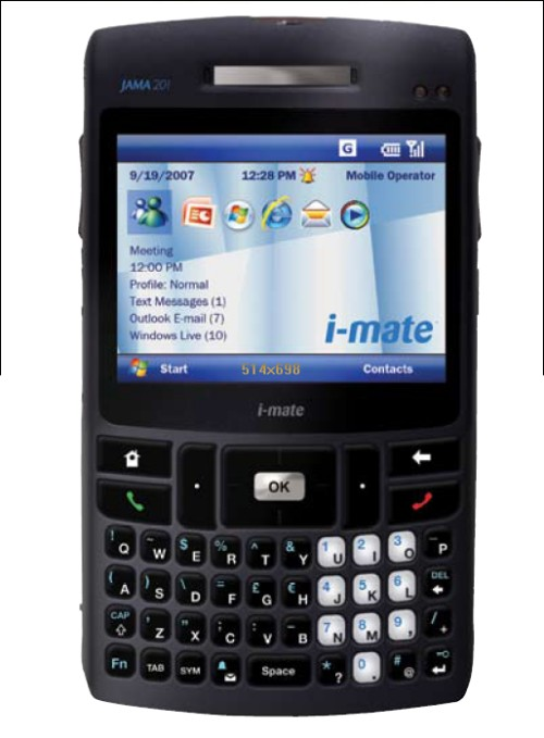 i-mate JAMA 201 Smartphone