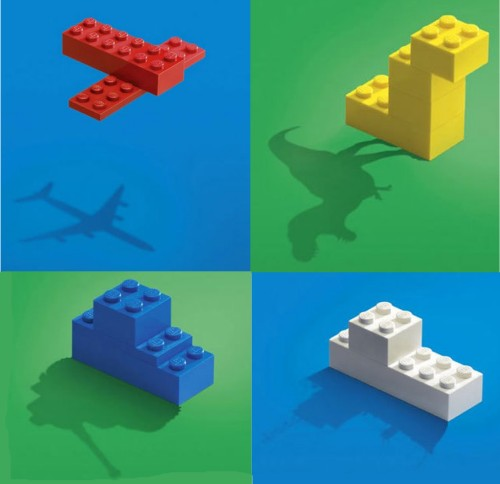 Clever lego advertisement showing the imagination of a child