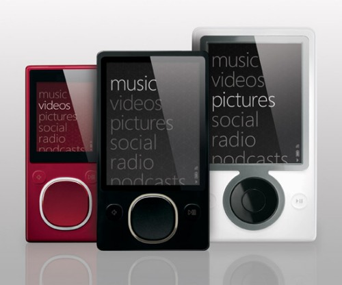 Microsoft launches 80GB Zune 2 and two flashed based Zunes