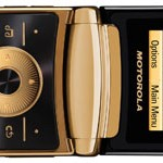 New luxury Motorola RAZR2 fulfills bling desires