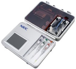 NEC DNA analyzer in a briefcase