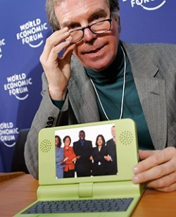 Nicholas Negroponte with the OLPC is expecting further delays with production of the OLPC XO laptop