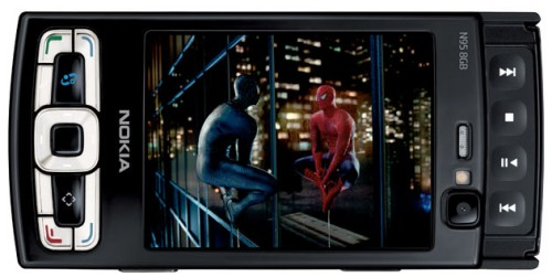 Nokia N95 8GB model with special Spider-Man 3 edition
