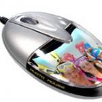 Saitek Photo Mouse lets you stuff picture in it