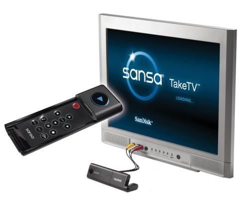 SanDisk Sansa TakeTV
