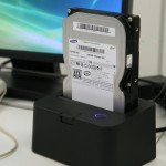 SATA HDD Stage Rack lets you dock your drive