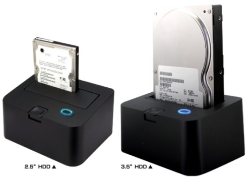 Quick overview: all-in-one item: hdd dock can accommodate/store/exchange/backup 1x 25/35 sata and 1x ide hard