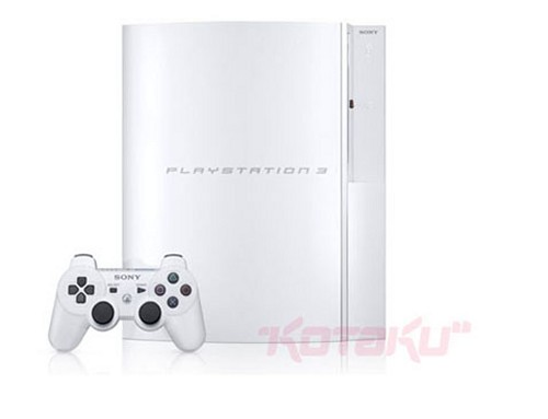 Sony drops PS3 price in Japan and brings white 40GB model