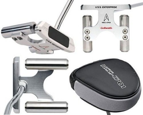 Golfsmith Star Trek Enterprise Putter
