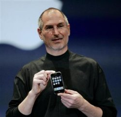 Steve Jobs announced that Apple will be opening up the iPhone for third party applications