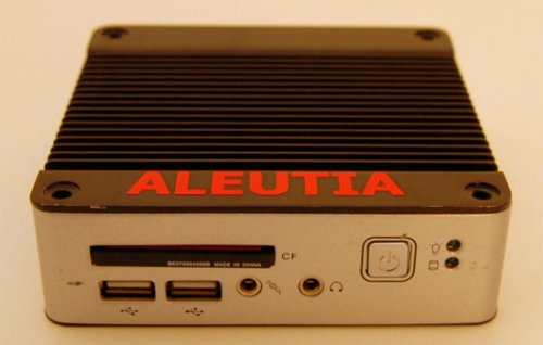 Solar-powered Aleutia E1 computer