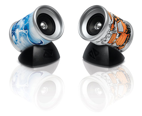 Boosted Tin Can Speaker Set Vol. 1