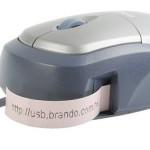 Casio USB label mouse prints
