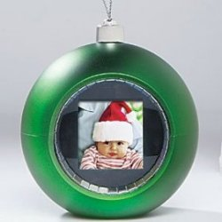 Christmas digital photo ornament