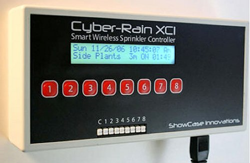 Cyber-Rain XCI: the internet sprinkler system