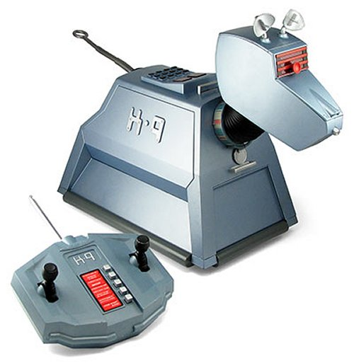 Doctor Who R/C K9 robot dog companion