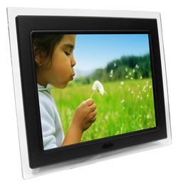 Edge Tech 12″ digital picture frame with MP3 player