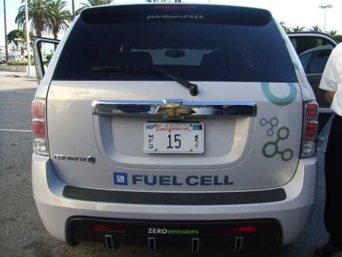 Project Driveway with the Chevy Equinox fuel cell technology