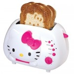 Hello Kitty Toaster burns the kitty into your breakfast