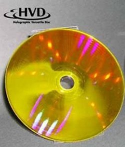 Sony develops holographic disks to store 500GB